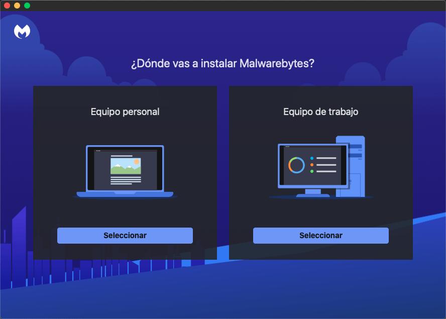 Malwarebytes se configurará de una manera u otra según el uso que le demos.
